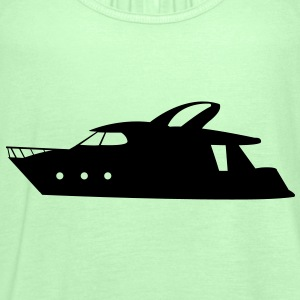 Boat T-shirt - Women's Tank Top by Bella