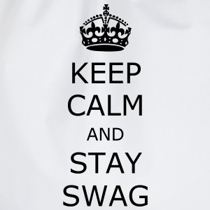Keep calm and stay swag - Gymbag