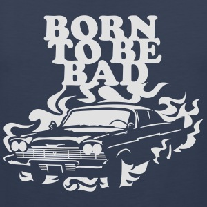 Born to be bad T-shirts - Mannen Premium tank top