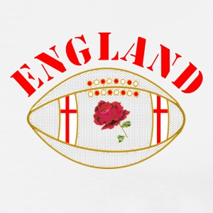 England rugby ball Polo Shirts - Men's Premium T-Shirt