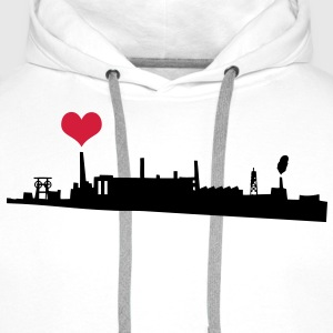 Love your City Industry T-shirts - Premiumluvtröja herr