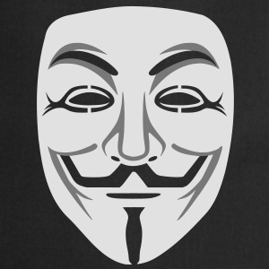 Anonymous / masque de Guy Fawkes 2clr Tee shirts - Tablier de cuisine