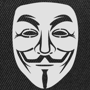 Anonymous / masque de Guy Fawkes 1clr Tee shirts - Casquette snapback