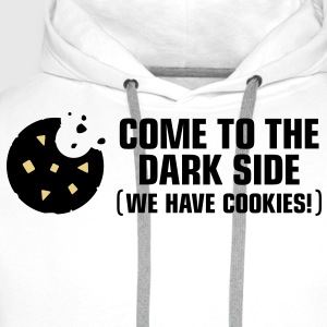 Come To The Darkside 2 (3c)++ T-Shirts - Men's Premium Hoodie