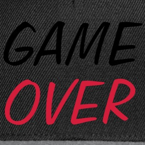 Game Over ! Tee shirts - Casquette snapback