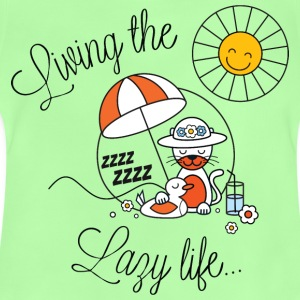 Living lazy in the sun spring and summer kids Kids' Shirts - Baby T-Shirt
