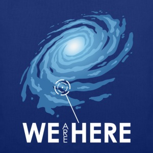 we are here T-Shirts - Tote Bag