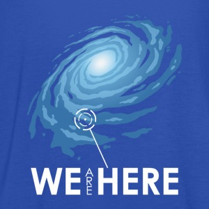 We Are Here - Frauen Tank Top von Bella