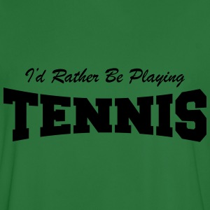 I'd Rather be Playing Tennis Sweat-shirts - Maillot de football Homme