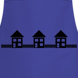 Neighborhood Houses T-Shirts - Cooking Apron