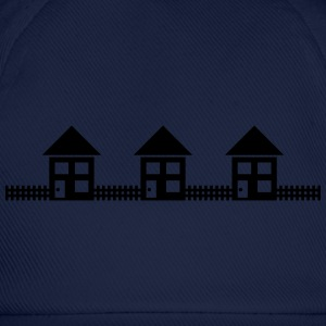 Neighborhood Houses T-Shirts - Baseball Cap