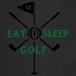 Eat Sleep Golf (2c) Shirts - Cooking Apron