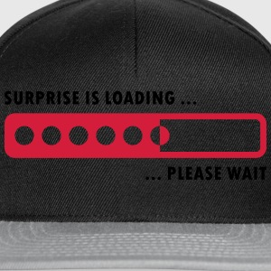 Surprise is loading - Snapback Cap