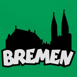 Bremen Skyline Kinder T-Shirt - Retro Tasche