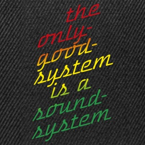 the system - Snapback Cap