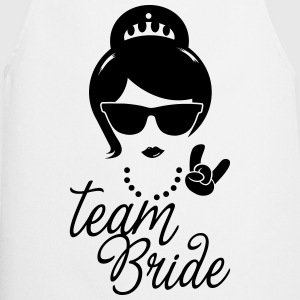 Team Bride Wedding Bridesmaids Stag Hen night do Hoodies & Sweatshirts - Cooking Apron