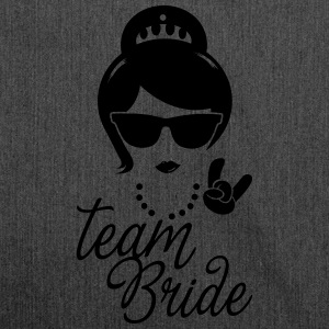 Team Bride Wedding Bridesmaids Stag Hen night do Hoodies & Sweatshirts - Shoulder Bag made from recycled material