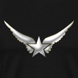 Hero Wings, Superhero, Comic, Style, Cartoon, Star Tröjor - Premium-T-shirt herr