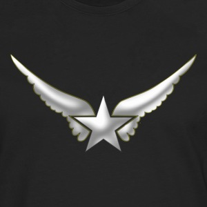 Hero Wings, Superhero, Comic, Style, Cartoon, Star Sweat-shirts - T-shirt manches longues Premium Homme