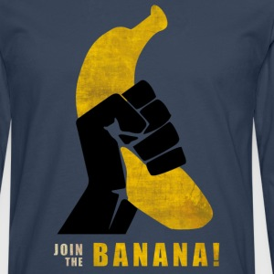Join the Banana Tee shirts - T-shirt manches longues Premium Homme