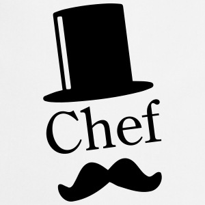 Like a Chef / Like a Sir / Mustache / Moustache 1c Hoodies - Cooking Apron