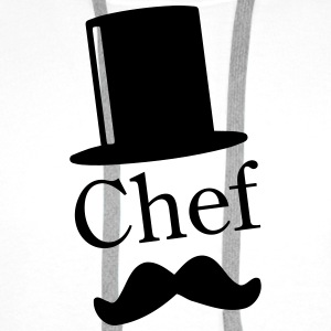 Like a Chef / Like a Sir / Mustache / Moustache 1c Pullover & Hoodies - Männer Premium Hoodie