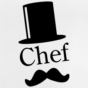 Like a Chef / Like a Sir / Mustache / Moustache 1c T-shirts - Baby-T-shirt
