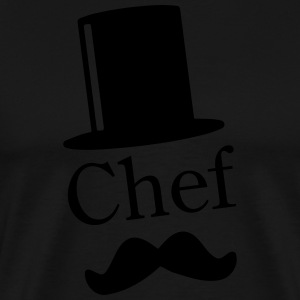 Like a Chef / Like a Sir / Mustache / Moustache 1c Tabliers - T-shirt Premium Homme