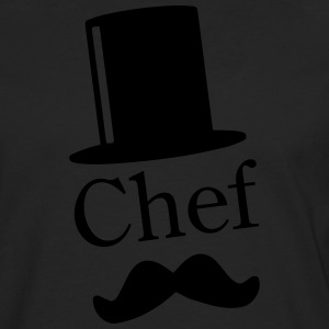 Like a Chef / Like a Sir / Mustache / Moustache 1c Tabliers - T-shirt manches longues Premium Homme