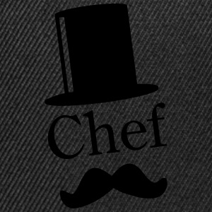 Like a Chef / Like a Sir / Mustache / Moustache 1c Tabliers - Casquette snapback