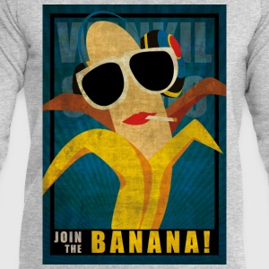 Join the sexy Banana Tee shirts - Sweat-shirt Homme Stanley & Stella