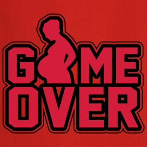 Pregnant - Game Over T-shirts - Förkläde