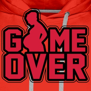 Pregnant - Game Over T-shirts - Premiumluvtröja herr