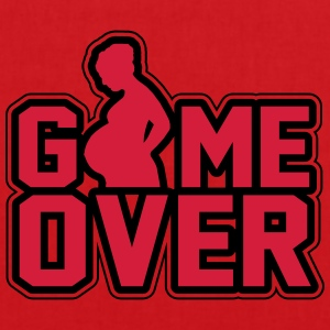 Schwanger- Game Over T-Shirts - Stoffbeutel