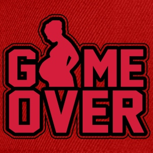 Pregnant - Game Over T-paidat - Snapback Cap