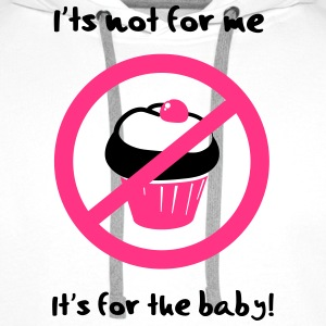 It' not for me, I'ts for the baby! T-shirts - Premiumluvtröja herr