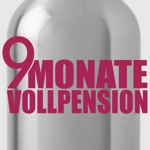 9 Monate Vollpension T-Shirts - Trinkflasche