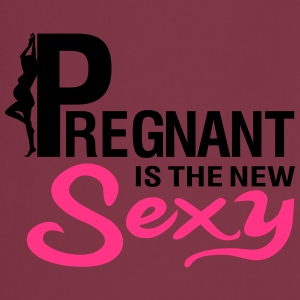 Pregnant is the new SEXY T-skjorter - Kokkeforkle