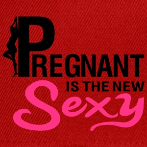 Pregnant is the new SEXY Camisetas - Gorra Snapback