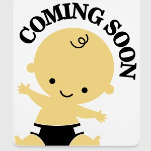 Baby - Coming Soon Tee shirts - Tapis de souris (format portrait)