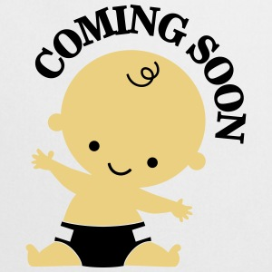 Baby - Coming Soon T-shirts - Keukenschort
