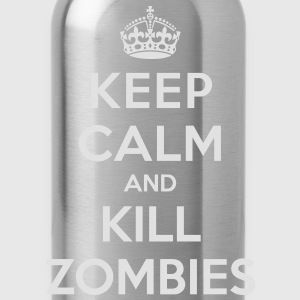 Keep calm and kill zombies - Water Bottle