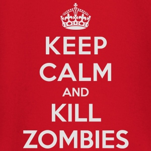 Keep calm and kill zombies - Camiseta manga larga bebé