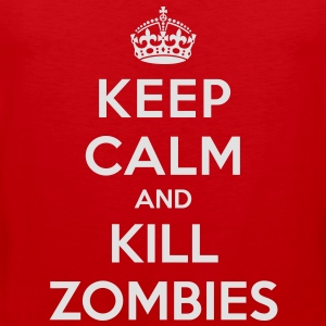 Keep calm and kill zombies - Men's Premium Tank Top