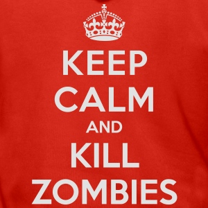 Keep calm and kill zombies - Men's Premium Hooded Jacket
