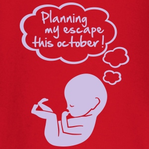 planning my escape this october T-Shirts - Baby Long Sleeve T-Shirt