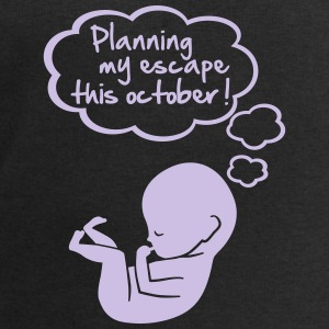 planning my escape this october T-Shirts - Men's Sweatshirt by Stanley & Stella