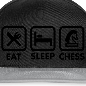 Eat - Sleep - Play chess Tee shirts - Casquette snapback
