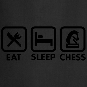 Eat - Sleep - Play chess Tee shirts - Tablier de cuisine