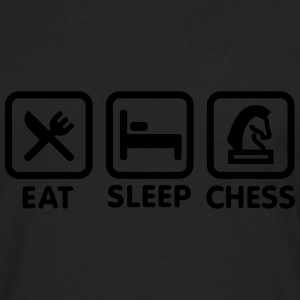 Eat - Sleep - Play chess Tee shirts - T-shirt manches longues Premium Homme